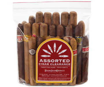 Assorted Cigar Clearance