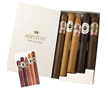 Ashton 5 Cigar Sampler